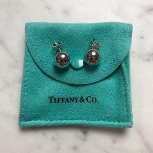 Tiffany & Co. Ball Earrings 10 mm Sterling Silver
